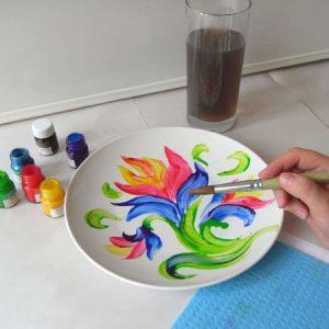 Роспись керамических и стеклянных изделий