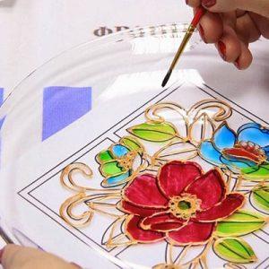 витражная роспись мастер-класс в киеве