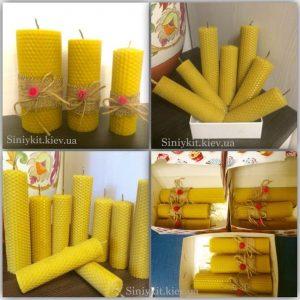 медовые свечи из вощины киев 1