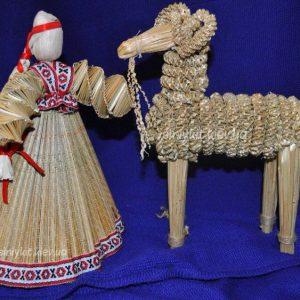 плетение соломой. корпоратиный мастер класс