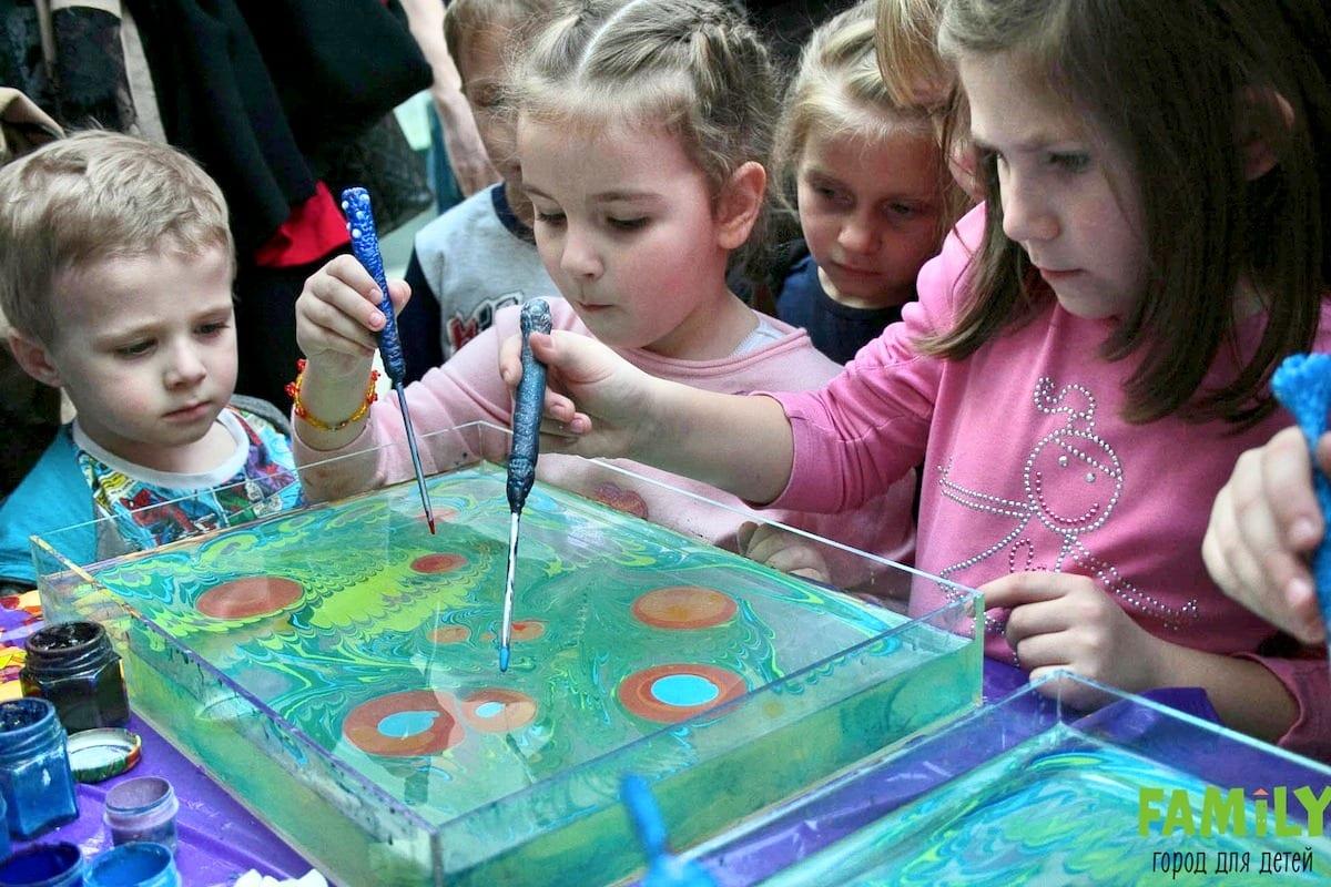 Мастер-класс по Эбру - рисование на воде, водная анимация в Киеве