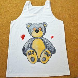 роспись футболки для взрослых 1