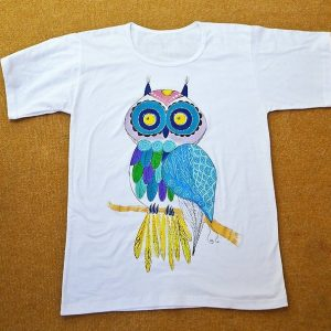 роспись футболки для взрослых