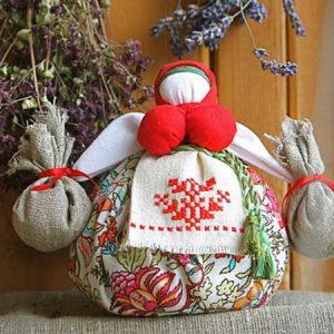 Зерновая кукла-мотанка_1