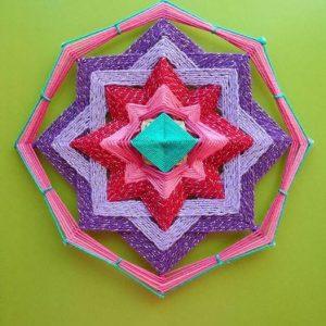 Мастер-класс по плетению мандалы из ниток для взрослых