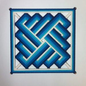 Плетение мандалы