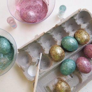 декор яйца на пасху