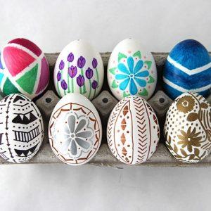 Пасхальные яйца своими руками_5