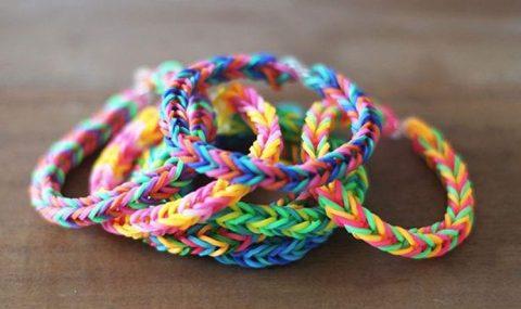 Мастер класс плетение браслетов из резинок