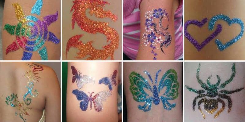 Glitter tattoo киев