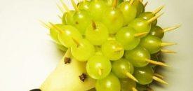 Фигурки из фруктов. Кулинарный мастер-класс