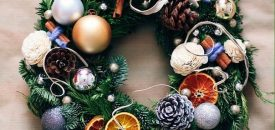 Рождественский венок. Мастер-класс