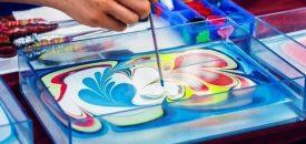Мастер-класс  по Эбру – рисование на воде